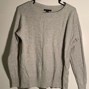 American Eagle sweater gray pullover